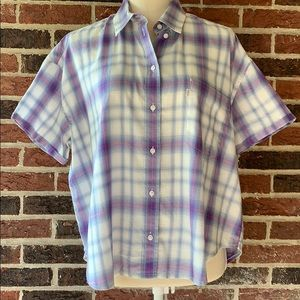 Levi's Button Down Short Sleeves Shirt M
